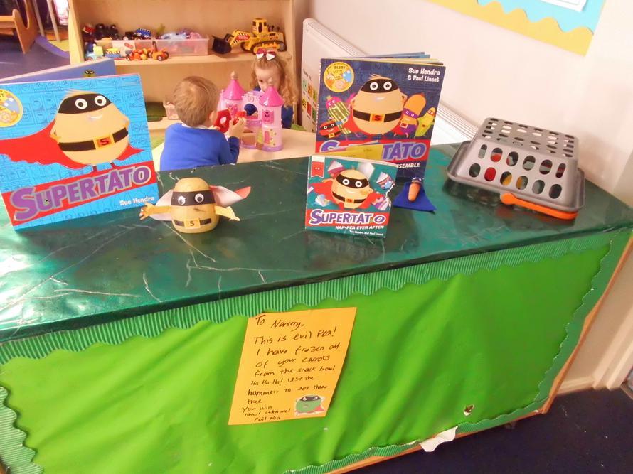 Nursery's Supertato Display!