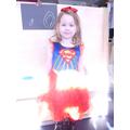 'I am superhero Ruby, I can fly