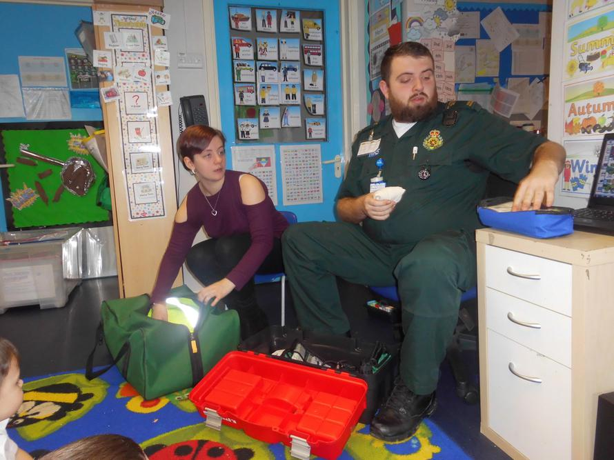 We enjoyed our visit from Ross and Louise
