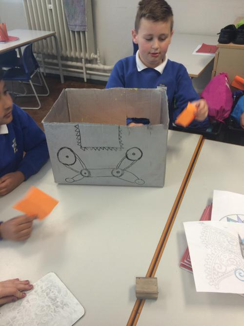 Function machines to help us with our times tables