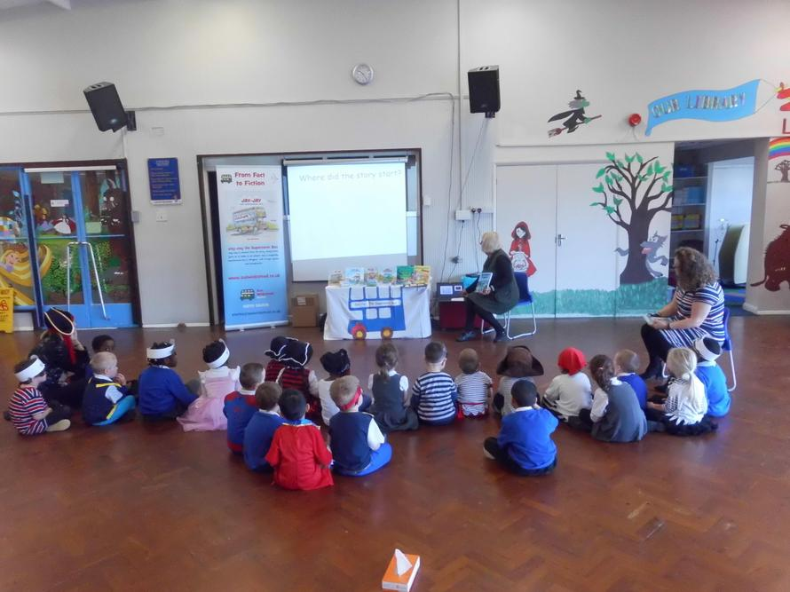 The children listened very well