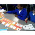 We worked together to create a huge timeline.