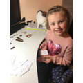 Emile has been using coins to make amounts