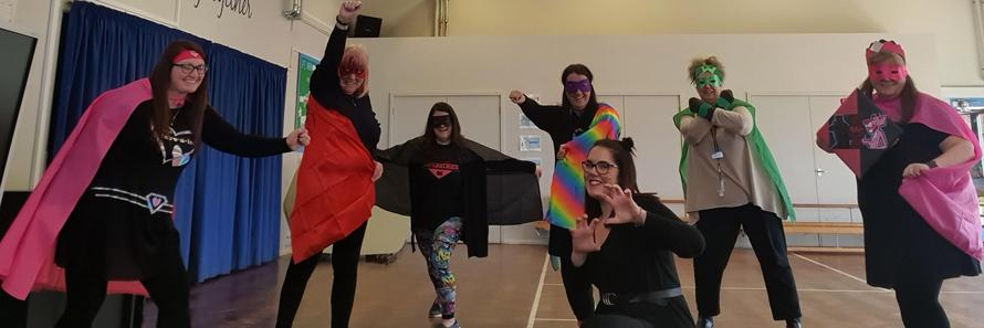 The Inclusion Super Heroes