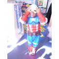 'I'm in my costume, I'm a superhero'