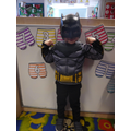 'I'm batman, i can go invisible to catch bad guys'