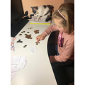 Emile counting out her change