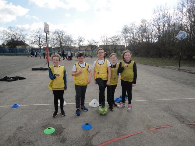 5J Handball competition winners