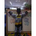 'I'm batman,i gotr bat swingers' 'you swing them and they catch bad people'
