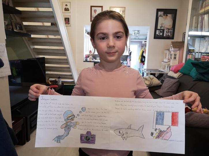 Some great Jacques Cousteau facts! 4CW