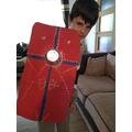 A fantastic Roman shield.