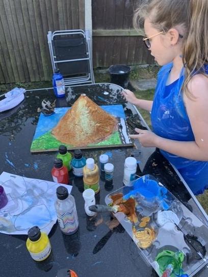 Volcano making