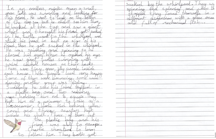 Maksymilian's short story 4CW