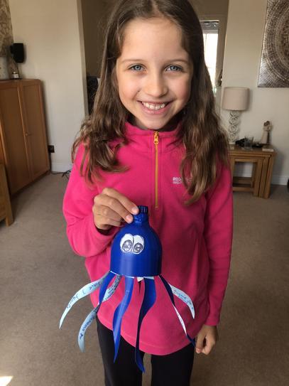 Homemade octopus 4HP