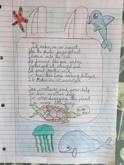 Layla's wonderful poem! 4CW