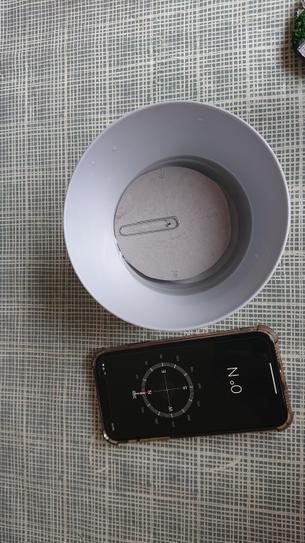 A homemade compass by RM 4VB