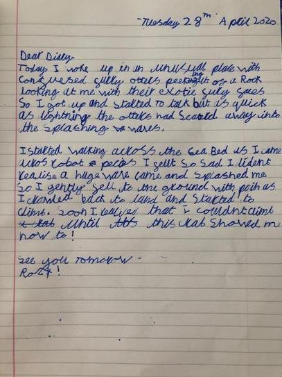 Diary entry 4HP