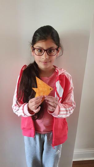 A lovely origami sea creature! 4CW