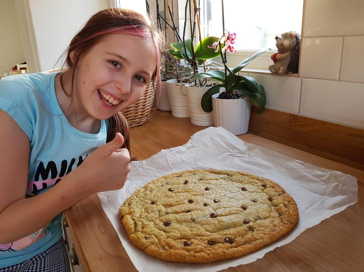 Baking one giant cookie 4HP