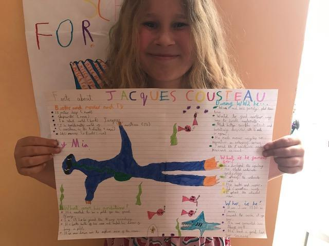Some more great facts about Jacques Cousteau! 4CW