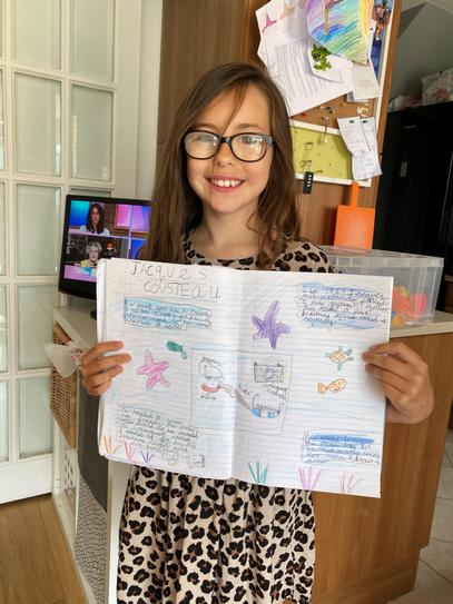 Some lovely facts about Jacques Cousteau! 4CW
