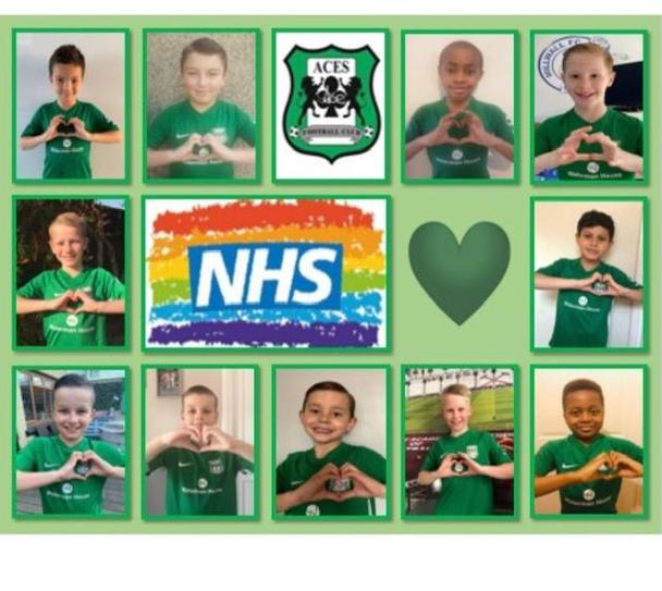 Great poster for support the NHS TH in 4VB