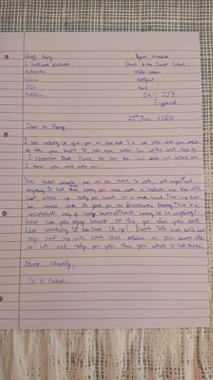 RM from 4VB Persuasive Letter