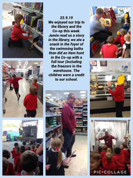 We visited the Co-op in Atherstone