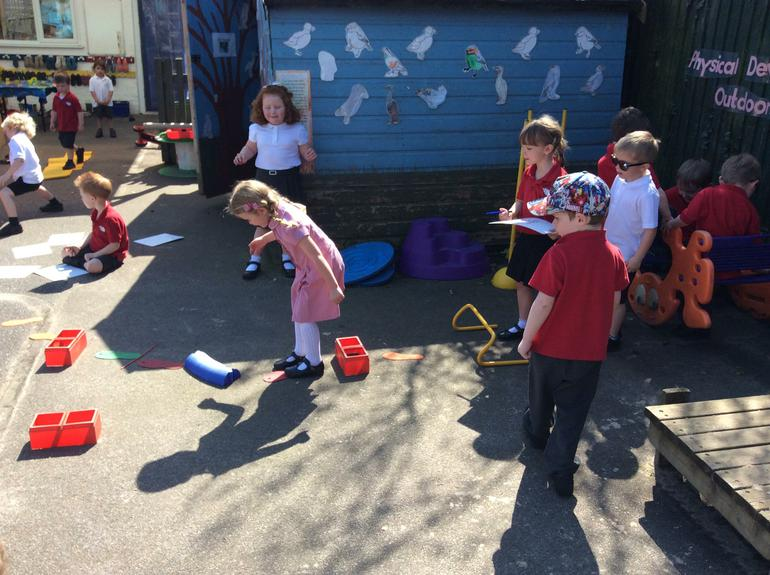 Designing and completing obstacle courses