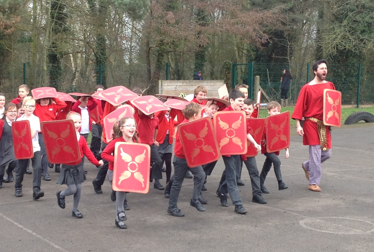 Roman Day:  Forming a Roman Army!