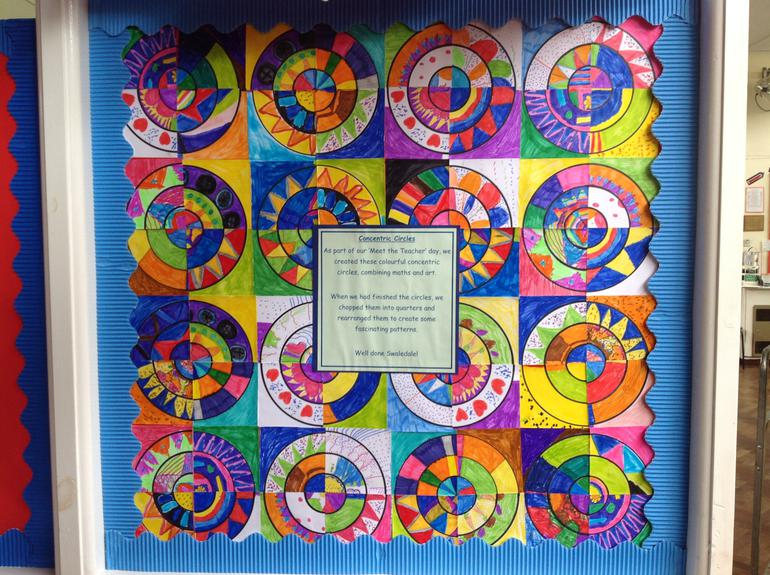 Concentric Circles on Meet the Teacher Day