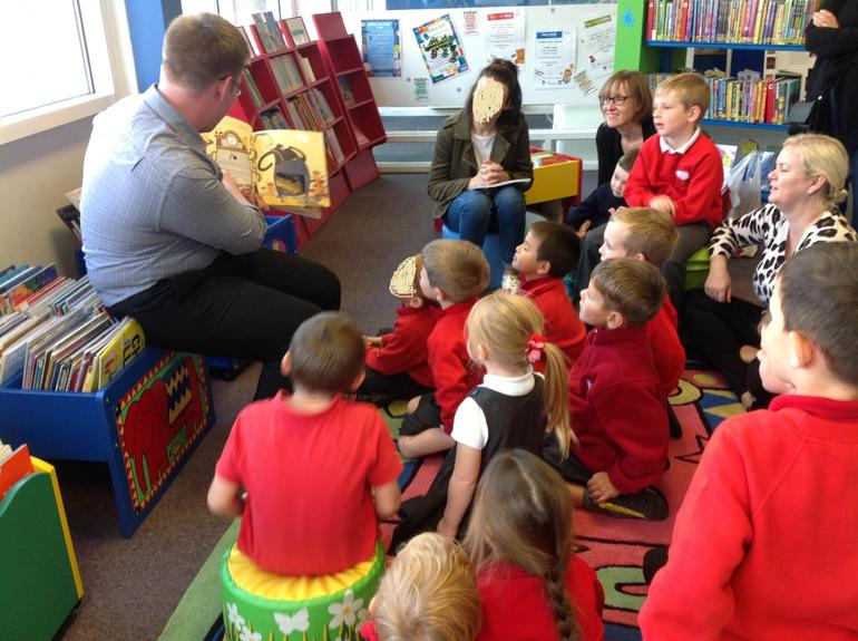 We visited the library in Atherstone