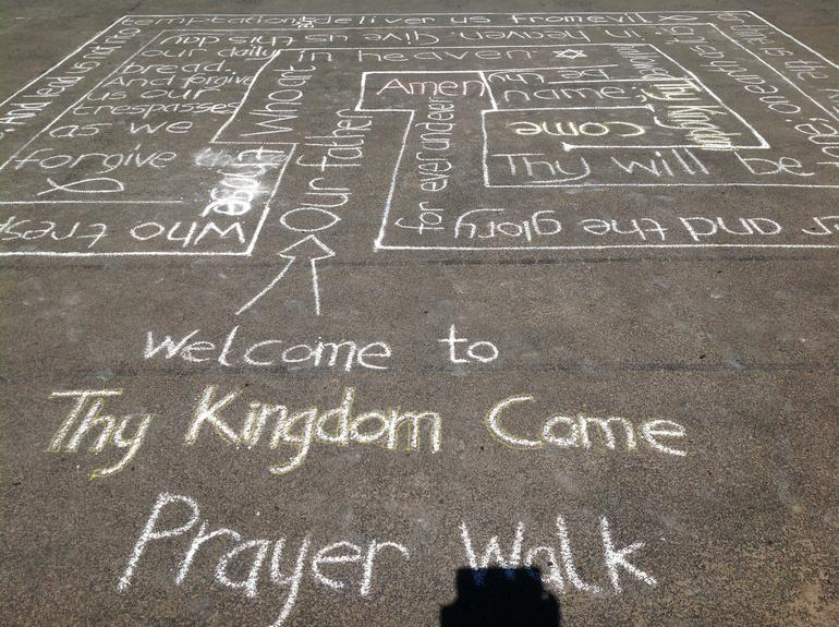 Thy Kingdom Come- The Lords's Prayer Labyrinth