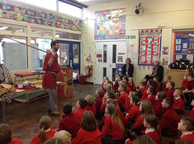 Roman Day: Meeting Gregorius, a real Roman soldier