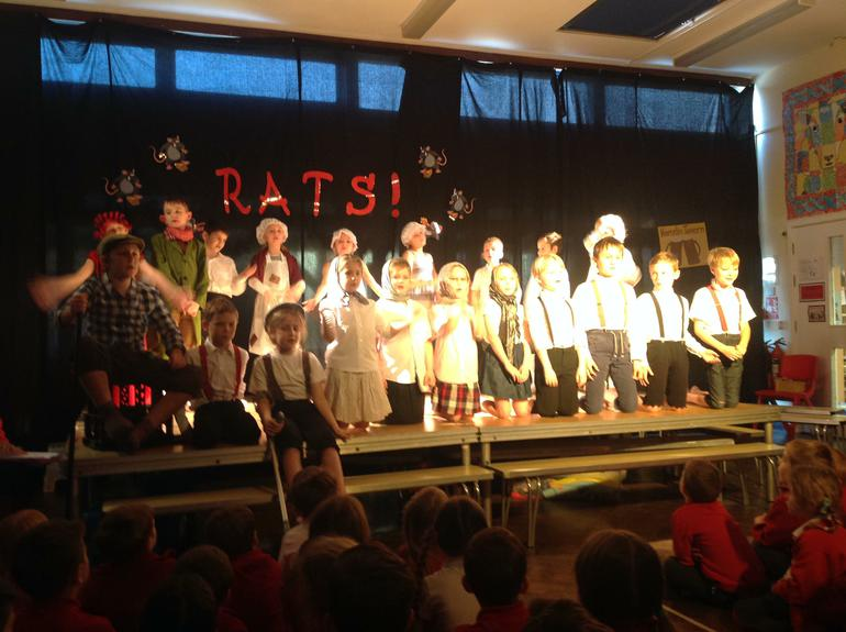 Y3/4 production of Rats!