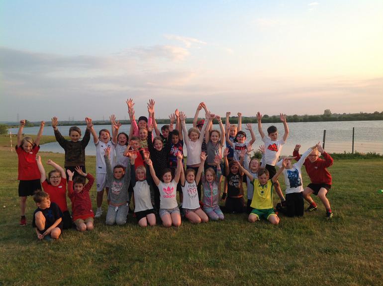 Team Swaledale at Whitemoor Lakes