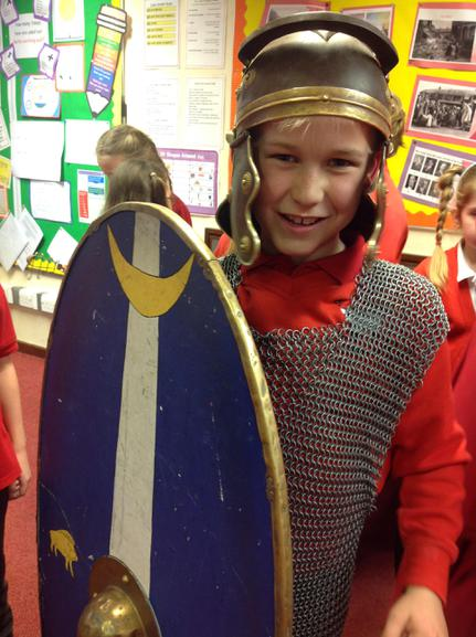 Roman Day:  Roman Soldier