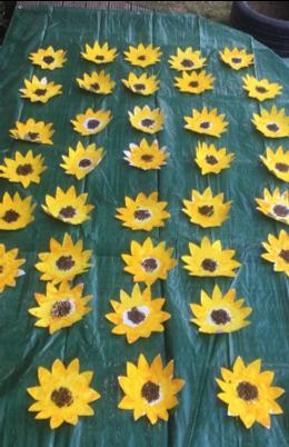 Sunflowers by Little Hedgehogs