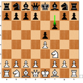 2... f6? Better to protect the pawn with Nc6.