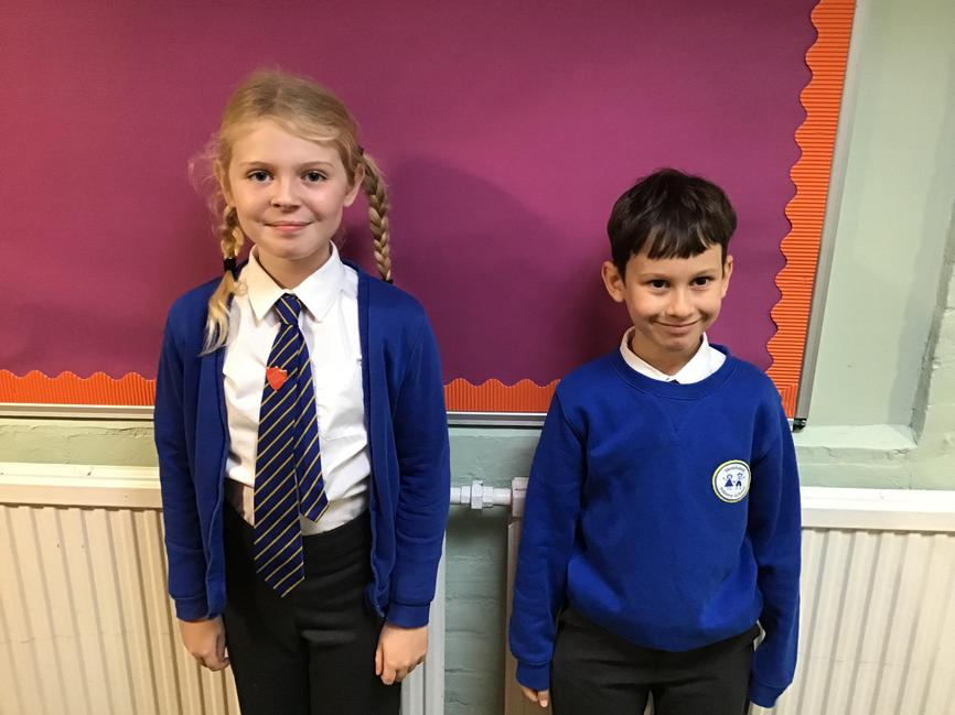 Class 4 Amelia and Martin