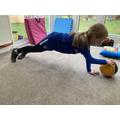 Erin's football skills