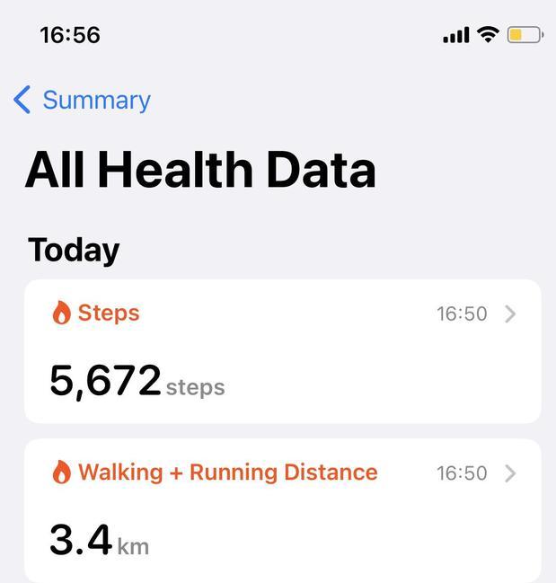 Connie's walk