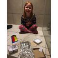 Avie's science experiment