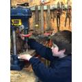 William drilling his values tree