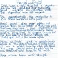 Lizzie's big write
