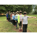 Sensory trail for group 2.