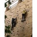 Group 1: Climbing Wall.