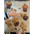 Andre's gingerbread men