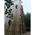 Group 2: Climbing Wall.