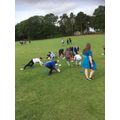 PGL sports for Mr Cork's group this morning...